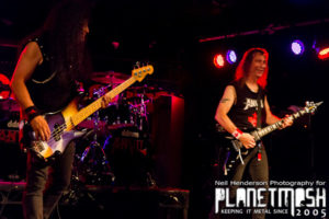 Anvil live at the Cathouse Glasgow