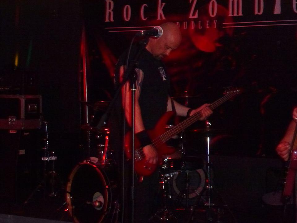 Warlord UK – Rock Zombie,Dudley,12/07/2013.