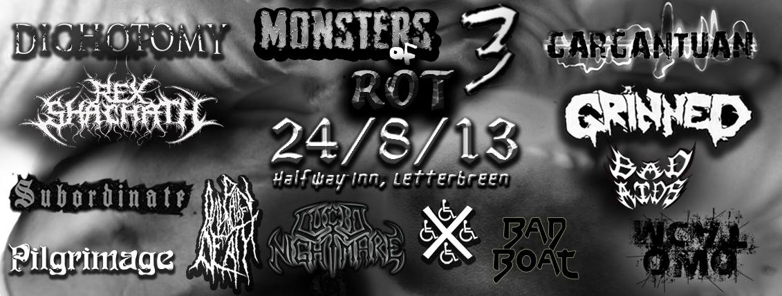Monsters Of Rot III flyer