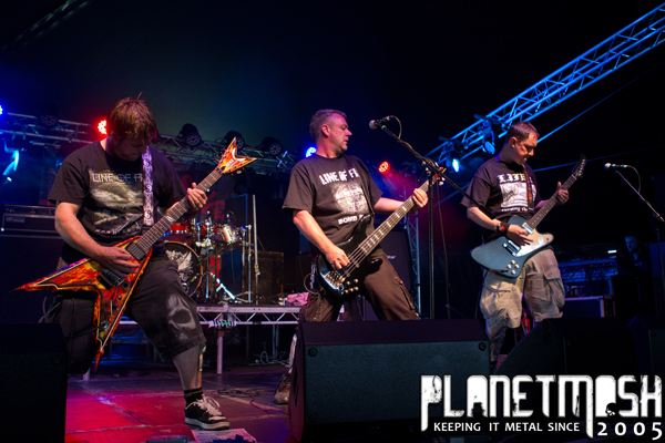 Line of fire at Bloodstock 2013