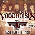 Voodo Six German dates