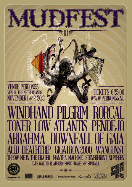 Mudfest,Venlo, Netherlands 01-02/11/2013