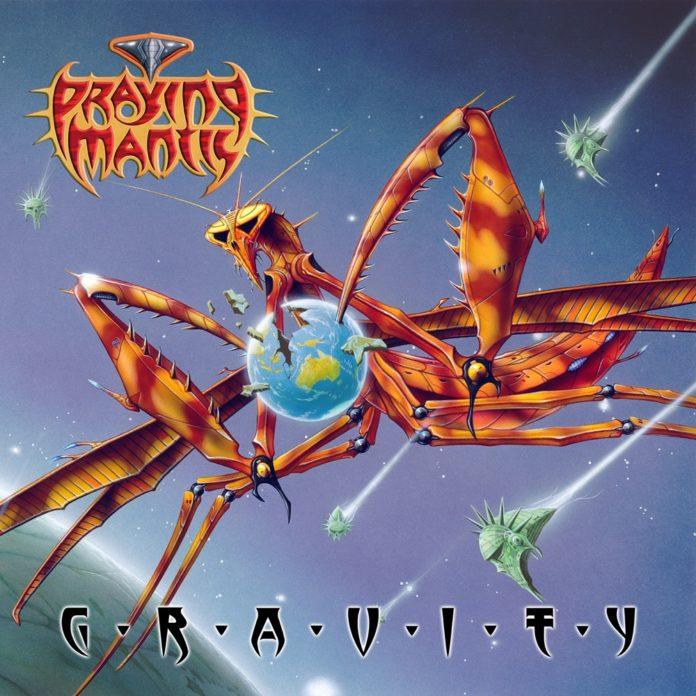 praying mantis gravity