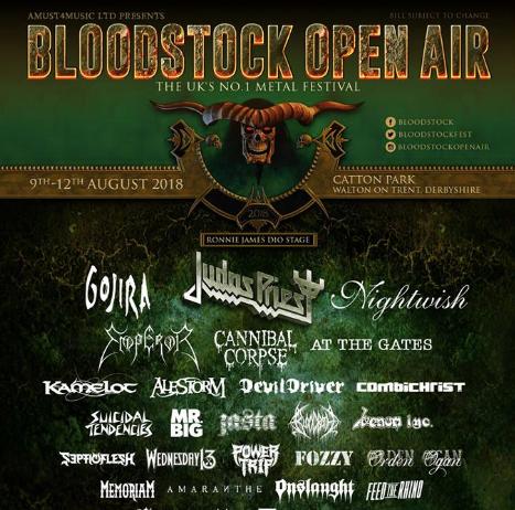 Bloodstock 2018 Poster