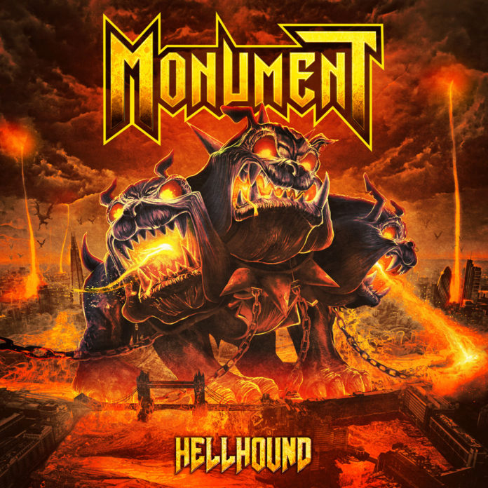 Monument - Hellhound (Cover)